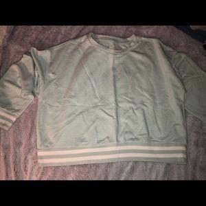 Mossimo cropped sweatshirt size L